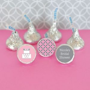 Chocolate Wrappers and Hershey Kisses Labels